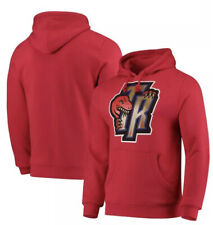 Toronto Raptors Mitchell & Ness Alternate Logo Pullover Hoodie - Red Size: Small