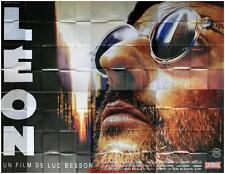 LEON Affiche Cinéma GEANTE 4x3 WIDE Movie Poster LUC BESSON 400x320
