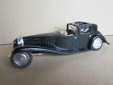 402O Solido 8001 France Bugatti Royale Type 41 Napoléon 1930 Noir 1:21 Epave