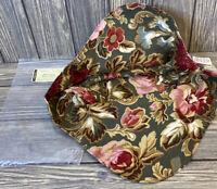 Longaberger Fabric Basket Liner Heartwood Serving Bowl Majolica Garden Floral