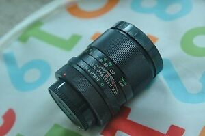 Vivitar 100mm f/2.8  Camera Lens For Canon FD