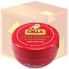 Almond Shaving Cream box 12 pcs x 150ml Cream Barba Olio Mamdorla Cella Milano ®