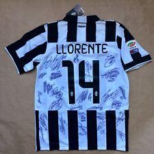 Juventus 2014-15 Signed Oficial Shirt Maglia Buffon Pirlo Pogba Llorente Morata
