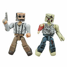Minimates Walking Dead Series 8 Gregory And Forest Zombie Figure Set NEW
