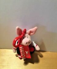 Olivia the Pig Schoolgirl Backpack clip Silverlining Productions 4.5 in NWT New