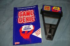 Game Genie with Code Book NES Nintendo