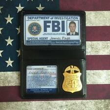 Supernatural Dean Winchester FBI Badge Card Holder US Police ID Cards Cosplay