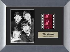 "THE BEATLES 1960s Pop Rock and Roll Music FRAMED FILM CELL and PHOTO 5"" x 7"" New"