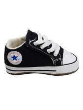 Converse Baby Kinder Schuhe CT All Star Cribster Mid Schwarz Leinen Größe 19 EU