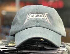 Yeezus Hat Glastonbury Unstructured Strap Back Dad Cap Hat Yeezy Kanye New Denim