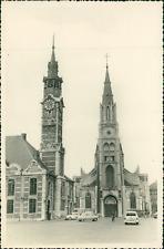 Belgique, Saint-Trond (Sint Truiden), 1958 Vintage silver print.  Tirage argen