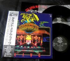 VA GRANDMETAL LIVE RAJAS MARINO 44 MAGNAM BLIZARD JAPAN 2LP ORIG LP X RAY