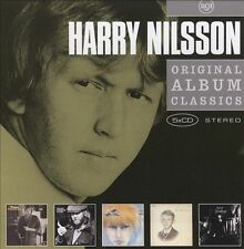HARRY NILSSON 5CD NEW Schmilsson/A Little Touch/Aerial Ballet/Harry/Son Of