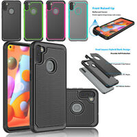 For Samsung Galaxy A11 2020 Phone Case Silicone Rubber Armor Shockproof Cover