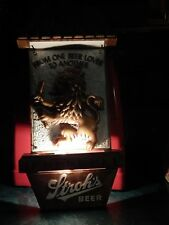 """Stroh's """"From One Beer Lover To Another"""" Electric Light BAR_PUB_TAVERN Vtg Sign"""