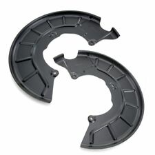 FRONT PAIR BRAKE DISC SPLASH GUARD FOR AUDI A3 Q3 VW GOLF MK5 TOURAN SEAT LEON