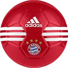 adidas Capitano 2016 - 2017 Soccer Ball Bayern Munich Edition New Red Size 5
