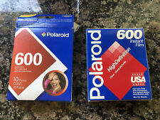 2 New Nib Polaroid 600 instant film high definition clear sharp pictures Print
