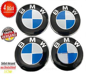 ▀ 4x BMW 68mm NABENDECKEL NABENABDECKUNGEN NABENKAPPE FELGENDECKEL 36136783536 ▀
