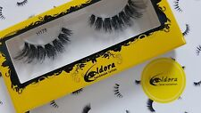 Eldora False Eyelashes H178 Human Hair Strip Lashes