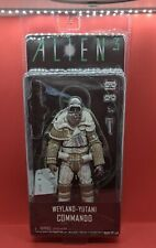 "New Aliens Series 8 WEYLAND-YUTANI COMMANDO 7"" Scale Action Figure NECA Alien 3"