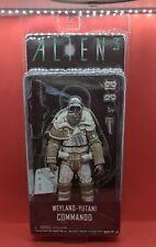 "New Aliens Series 8 WEYLAND-YUTANI COMMANDO 7"" Scale Action Figure NECA Alien 3"