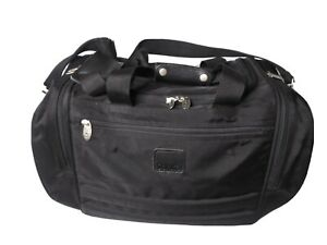 "Tumi Dakota 20""Carry On Duffle Weekender Bag Black Ballistic Nylon Travel Strap"