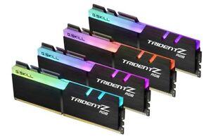 G.SKILL 32GB 4 x 8GB TridentZ RGB Series DDR4 PC4-24000 3000MHz Memory Deskto...