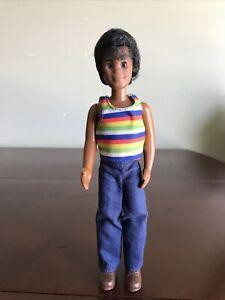 """VINTAGE 1973 MATTEL SUNSHINE DOLL HAL AFRICAN AMERICAN AA 9.5"""" OG OUTFIT"""