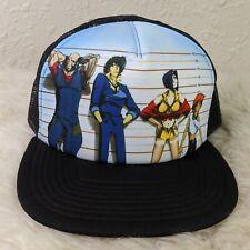 Cowboy Bebop Officially Licensed Anime Toonami Graphic Hat Snapback Trucker Cap