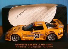 CORVETTE C5R #63 LE MANS 2002 FELLOWS O CONNELL GAVIN IXO LMM056 1/43 ACDELCO
