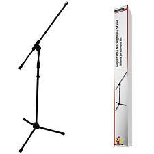 Mikrofon Stativ Ständer / 95 - 195 cm / Robustes Bodenstativ mit 3/8 5/8 Gewinde