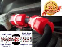 2 x pairs Magnetic 25% Fuel saver all model CAR JEEP VAN BOAT MOTOR BIKE BUS