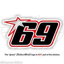 NICKY HAYDEN 69 type-C 150mm MotoGP Sticker Decal Aufkleber Adesivo Autocollant
