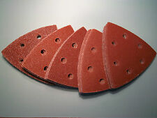 Mannesmann Sanding Sheets 50 x Velcro 95mm Sanding Pads 40/60/80/120/180/ GS TUV