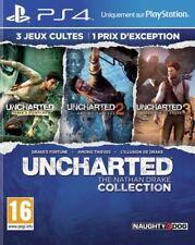 Ps4 juego Uncharted the Nathan Drake Collection mercancía nueva 1-3