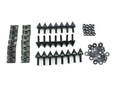 Injection Fairing Spike Bolts Screw Kit For 2000 2001 Yamaha YZF-R1 YZFR1 Black