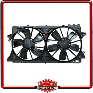 New Dual Radiator and Condenser Fan Assembly for F-150 Expedition Lobo Navigator