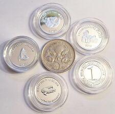 1 x 1 Gram 999.0 Pure Silver Bullion Coin Mystery Pick, croc, koala, simpsons