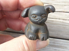 Cast Iron Griswold Pup Advertising Paperweight Dog EMBOSSED