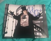 DANNY DEVITO SIGNED 8X10 PHOTO THE PENGUIN W/COA+PROOF RARE WOW