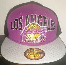 New Era vintage NBA LA Lakers Tribute Purple Gold Legend 59fifty Cap size 7 1/4