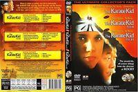 The Karate Kid DVD Trilogy 1 & 2 & 3 Ralph Macchio 1980s Family Movie_VG