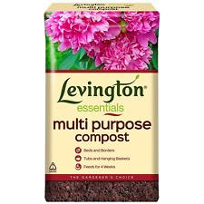 Levington 50L Essentials Multipurpose Compost Basket Plants Flowers Potting Soil