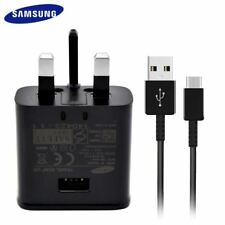 100% GENUINE FAST CHARGER PLUG USB C TYPE CABLE FOR SAMSUNG S9 S8 PLUS NOTE 9 8