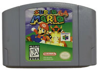 AUTHENTIC GENUINE Super Mario 64 Game For Nintendo 64 System Console N64 Tested