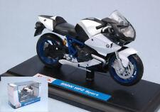 Suzuki GSX-R 1000 Blue / White Motorbike Moto 1:18 Model 05232B MAISTO