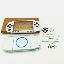 Housing Shell Cover Faceplate Button EC Replacement for PSP 3000 PSP3000 White