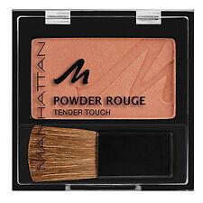 Manhattan GOLDEN BROWN Pressed Powder Rouge Tender Touch Blush Blusher Compact
