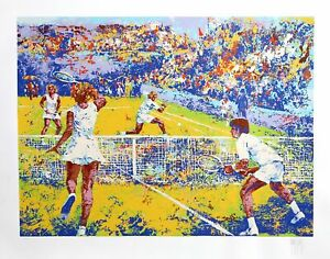 Mark King, Tennis, Screenprint, signed and numbered in pencil